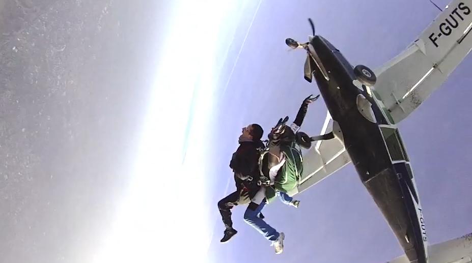 parachutisme bondues