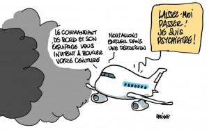 Humour avion