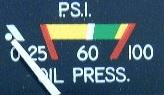 oil pressure drop