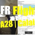 IFR Flight | PA28 |Valenciennes to Calais